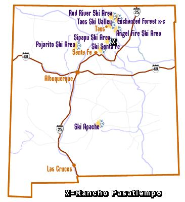 Ski In New Mexico Map.New Mexico Mountain Home For Sale By Owner